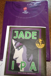 Jade purple shirt