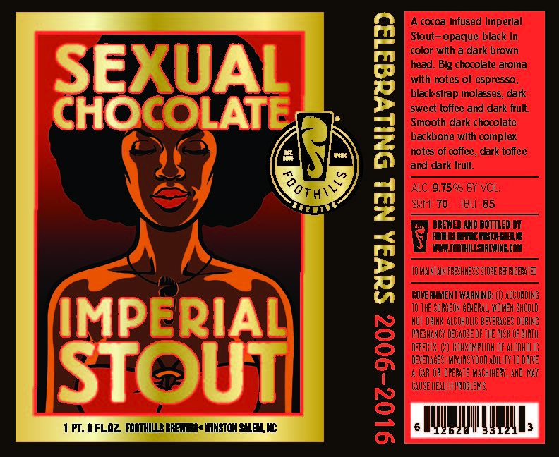 Sexual chocolate beer