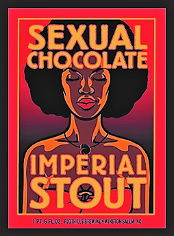 Sexual chocolate stout beer