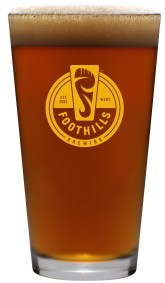 Foothills_Pint_Glass