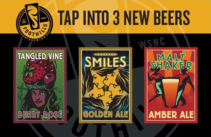 tap into 3 new beers